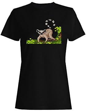 Regalo lindo divertido retro del regalo de los animales camiseta de las mujeres f905f