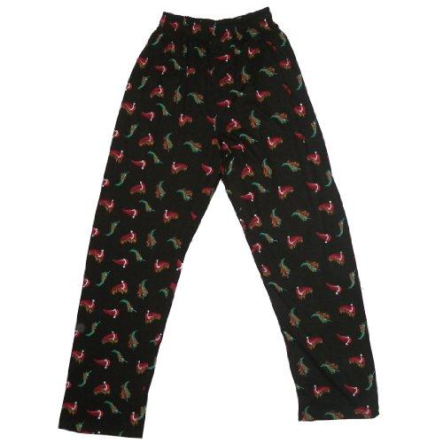 Jungen Komfortable Fit Cotton Casual Nachtwäsche / Pyjama Hose (Größe: L) (Nachtwäsche Hose Komfortable Kind)