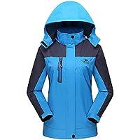 Luckycat Lady Chaqueta Funcional al Aire Libre para Mujer Softshell Jacket