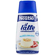 Nestlé il Latte Condensato, Intero, Concentrato, Zuccherato per Ricette Dolci Tubo - 450 gr