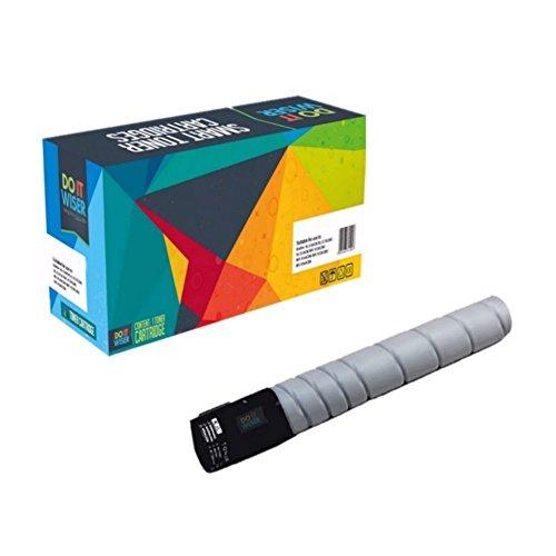 Preisvergleich Produktbild Do it Wiser ® TN324 Schwarz Toner Kompatibel für Konica Bizhub C258 C308 C368 - TN324K