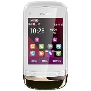 Nokia C2-02 Touch & Type golden white