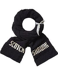 Scotch Shrunk Jungen Aufwaendig hergestellter Schal mit eingstricktem Logo Scotch Shrunk