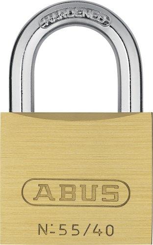 Abus - 55/40 40mm Messing Vorhängeschloss Quad Pack 33698 - ABU5540QPK