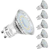LE 4W MR16 GU10 LED Lampe 350lm, Kaltweiß, 5000K, 120° Abstrahwinkel, LED Birnen, LED Leuchtmittel, 5er Pack