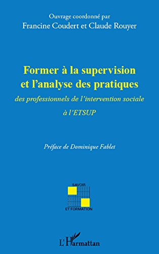 Former à la supervision et l'analyse des pratiques