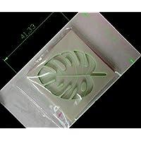 Laliva - Molde de silicona para decoración de magdalenas y fondant, diseño de hoja de