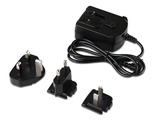 Preisvergleich Produktbild Acer Adapter (18W für das Aspire Switch,  Ladekabel,  schnelles Aufladen,  inkl. EU,  UK und US Stecker) schwarz