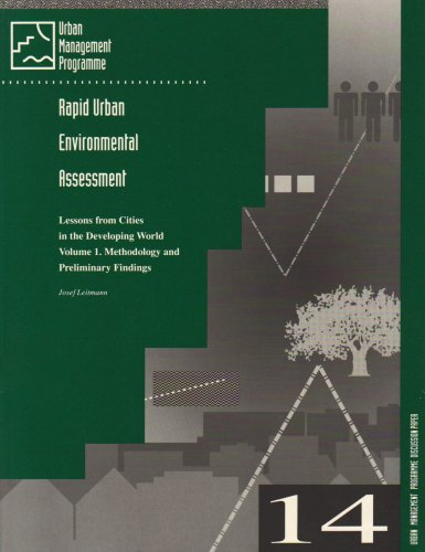 Rapid Urban Environmental Assessment: Lessons from Cities in the Developing World (Urban Management and the Environment, 14)