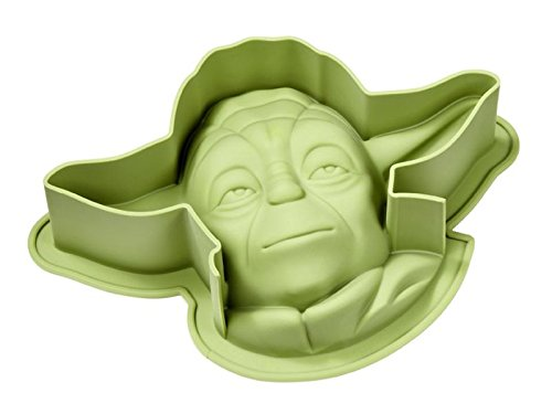 Star Wars Backform Yoda, Kuchenform aus Silikon 26x18,2x 7,2 cm