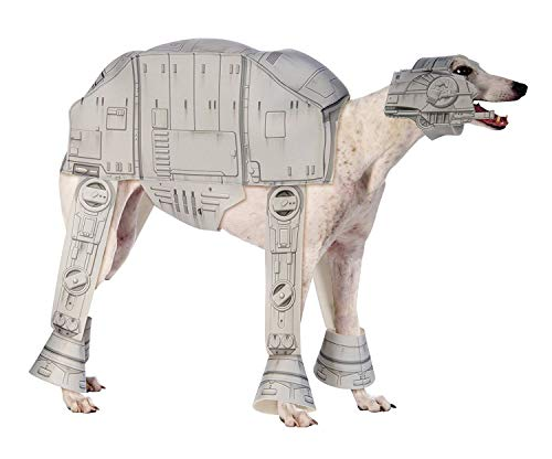 Rubie 's Offizielles Pet Dog Star Wars Kostüm AT-AT (Star Wars Atat Hunde Kostüm)