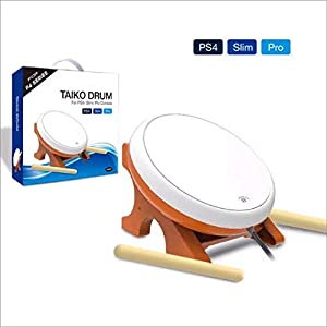 OSTENT Mini Taiko Kein Tatsujin Master Drum Controller Japanisches Traditionelles Instrument für Sony PS4 Slim Pro