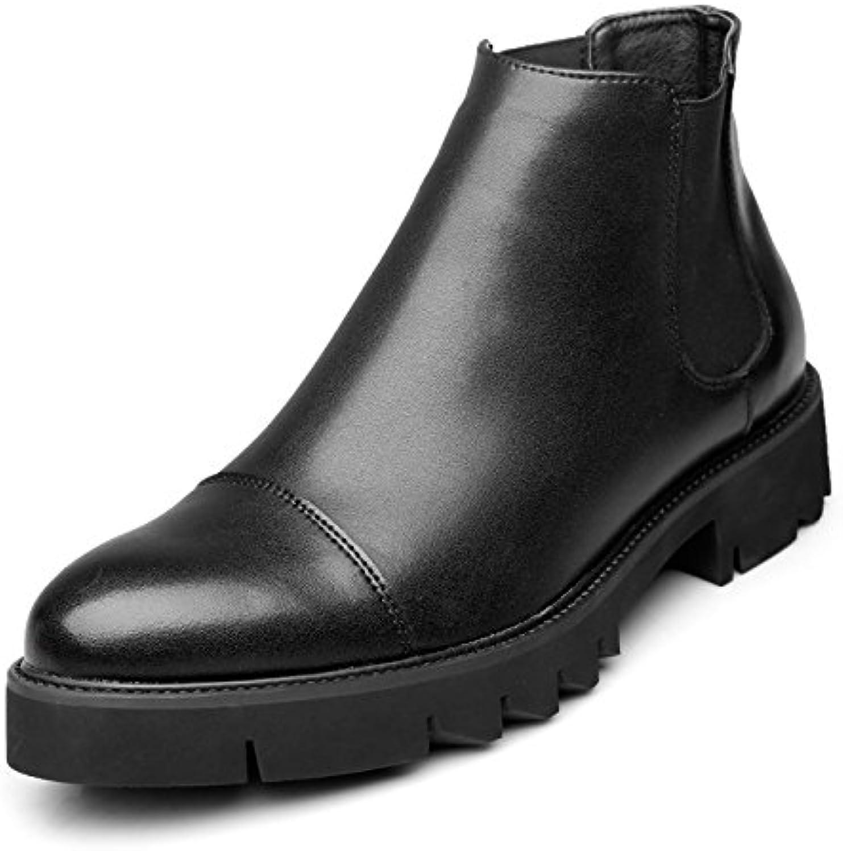Martin Boots Fashion Casual Men Chelsea Boots Slip-On Spring Zapatos De Hombre  -