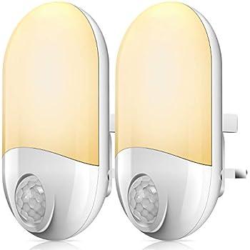 Motion Sensor Night Lights Plug In Wall Movement Sensor Light Pir Led Night Light