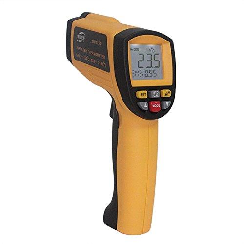 Hand Infrarot-Thermometer GM1150 Infrarot-Thermometer Temperaturpistole Berührungslose Infrarot-Thermometer Messbereich -50 ~ + 1150C
