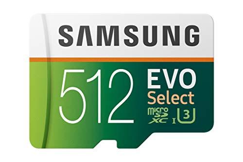Samsung MB de me512ga/eu EVO Select microsdxc Tarjeta de Memoria con SD Adaptador, 512.GB,...