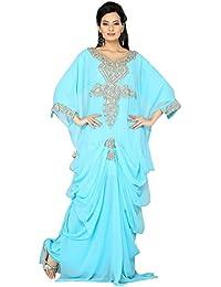 PalasFashion caftán árabe vestidos de la mujer KKPF17206
