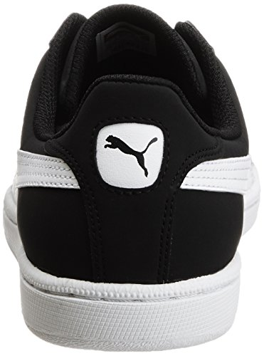 Puma Smash Nubuck, Tennis Adulte Mixte Noir (Black/White 02)