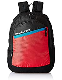 26eb50e5bb Gear 17 Ltrs Black Casual Backpack (BKPVLCTY20146)