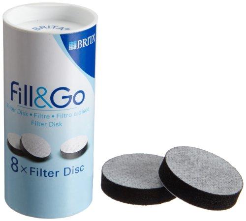 Brita Fill and Go Ersatz Filter Discs für Wasserfilterflasche,Pack - Britta Wasser-filter-flasche