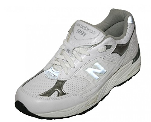 New Balance M991WFLP Retro Weiss Limited Sneaker Made in UK Weiß
