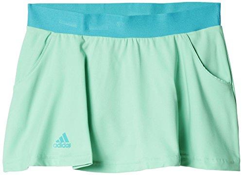 adidas Damen Oberbekleidung Club Skort Women Tennisrock, Grnglo/Shogrn, XS -