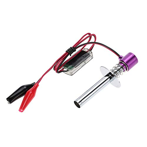 Upgrade Elektronischer Glühkerze Starter Zünder Für Nitro Rc Auto Heli 80100 -