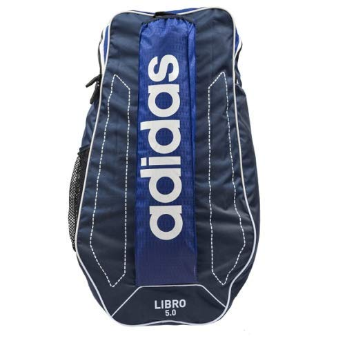 adidas Libro 5.0 Cricket Duffel Kit Bag Rucksack, Kinder, blau, Größe S -