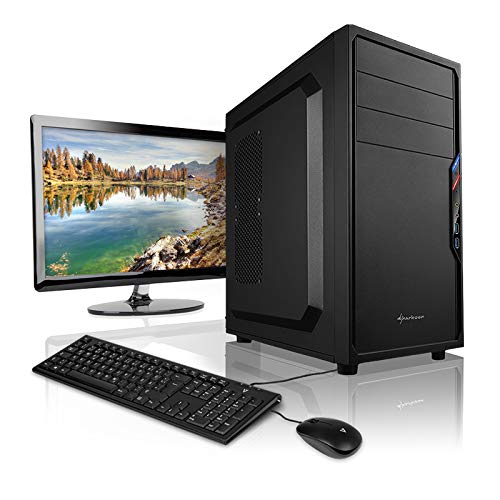 Megaport PC AMD Ryzen 5 2400G 4x 3.60GHz • Schermo LED 22' • Tastiera/Mouse • 16 GB DDR4 2400 • 480GB SSD • AMD Vega 11 • Windows 10 • GigabitLAN • office pc computer desktop pc home multimedia pc