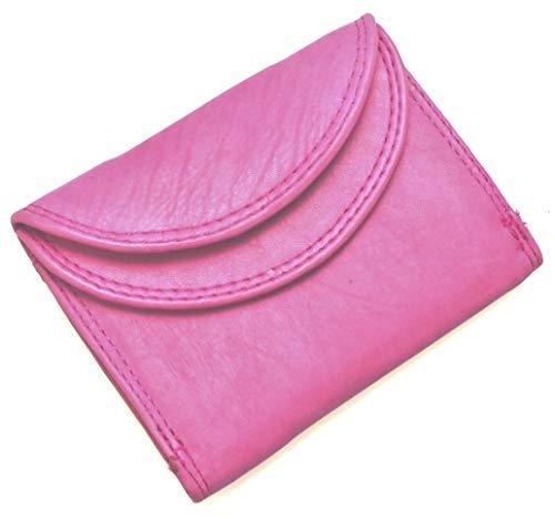 flevado Kleine handliche Party Disco Geldbörse in Mehreren Farben Lifestyle (rosa-pink)