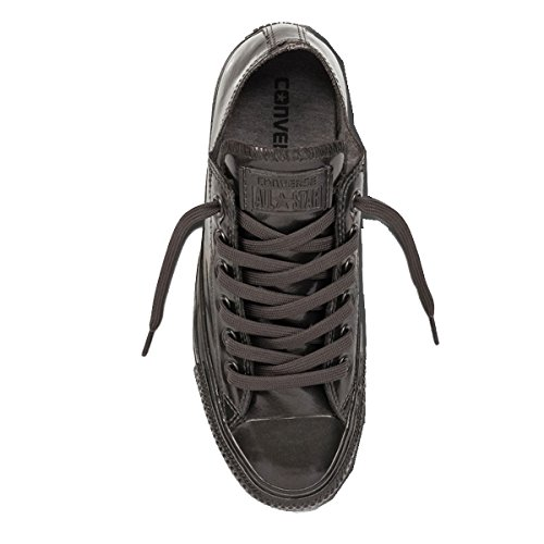 Converse Womens Chuck Taylor All Star Metallic Rubber Synthetic Trainers Noir