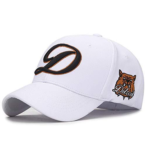 KFEK Elastischer Buchstabe gestickter Hut beiläufige volle Dichtungsbaseballmütze im Freienvisier-Baseballmütze C4 justierbar