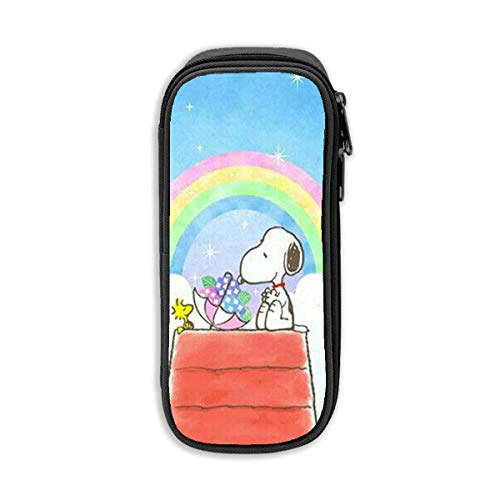 Pencil Case, High Capacity Rainbow Snoopy Print Pens Pouch Bag Cosmetic Bag -