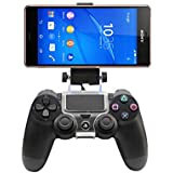For Sony Smart Phone 4 inch to 6 inch - Game Controller Mount Clip Holder for PlayStation 4 PS4
