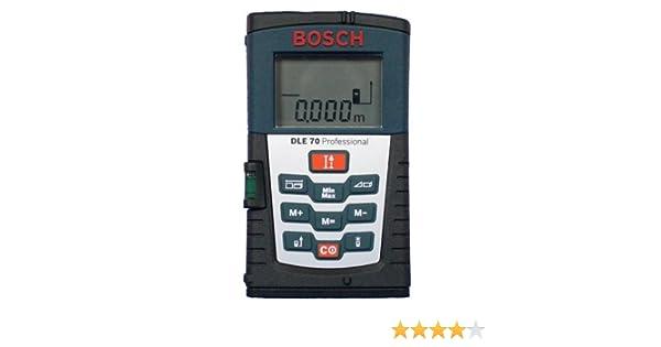 Bosch dle 70 laserentfernungsmesser: amazon.de: elektronik