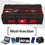 Best Battery Booster Packs - Uniqus Car Jump Starter 12V 600A Peak Portable Review