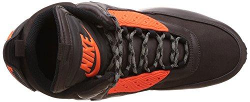 Nike Air Max 90 Sneakerboot Winter 684714 Herren High-Top Sneaker Braun (Velvet brown/black-hypr crmsn 200)