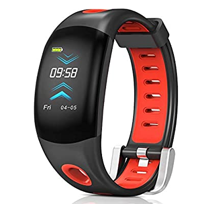 Fitness Tracker, Bluetooth Fitness Tracker with Heart Rate Monitor
