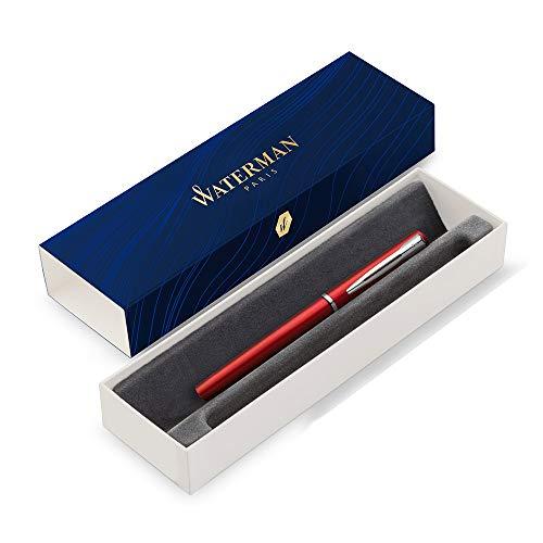 Waterman Graduate Allure pluma estilográfica, lacado rojo, plumín mediano,...