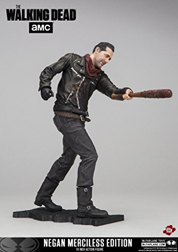 The Walking Dead Neagan Merciless Edition Deluxe 10 inch Action-Figur (Walking Deluxe Dead)