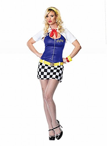 rerin Kleid - Gr. L - 83506 (Racing Girl Kostüm Kostüme)