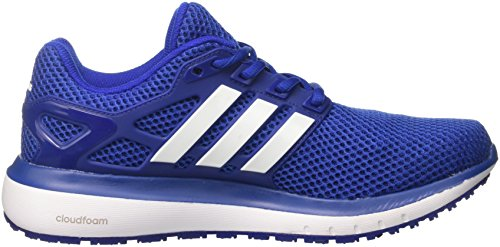adidas Energy Cloud M, Chaussures de Running Homme Bleu (Mystery Ink/Footwear White/Collegiate Royal)