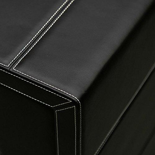 Safewinder® 18 DELUXE BLACK Uhrenbeweger & Safe - 6