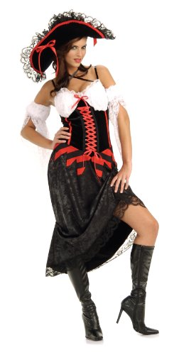 Queen Of The Sea Costume XS (Womens Pirate Wench Kostüm)