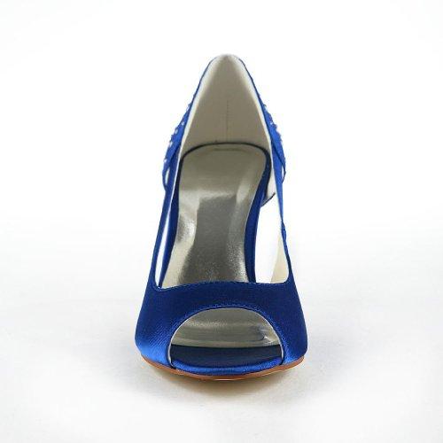 Jia Jia Wedding A31B17 Scarpe Sposa Scarpe col tacco donna Blue