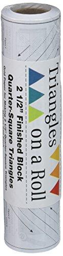 Triangles On A Roll Dreiecke auf einer Rolle quarter-square Dreiecke auf einem roll-50'6,3cm fertige Größe (Roll Dreieck)