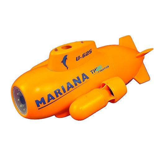 Thor Robotics Unterwasser-Drohne RC U-Boot Mini Mariana HD Video Echtzeit mit FPV Unterwasserkamera Drohne