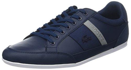 Lacoste Herren Chaymon 318 3 Us Cam Sneaker, Blau (NVY/Gry 178), 42 EU
