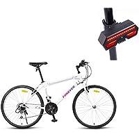 Bicicleta, Bicicleta De Montaña, 26 Pulgadas De 24 De Velocidad De Disco Doble Freno DeAcero alto en carbono De Alta Gama De Vehículos Todoterreno,Adecuado ...