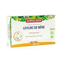 Description : SuperDiet Levure de Bière Bio est un complément alimentaire à base de levure de bière de qualité et issue de l'agriculture biologique. La levure de bière est naturellement riche en vitamines B, en acides aminés essentiels, en oligo-élém...